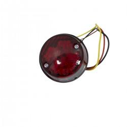 Universaalne LED tagatuli kolme funktsiooniga, ümmargune