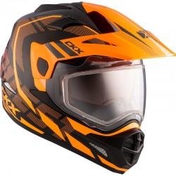 Talvine Dual Sport kiiver elektrilise visiiriga CKX Quest RSV Moosek