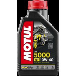 Motul 5000 4T 10W40 Hi-Tech poolsünteetiline õli 1L
