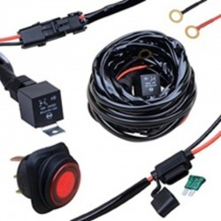 LED töötulede juhtmekomplekt Kinwons Max 240W / 2 tulele