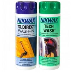 Riiete hooldusvahendite komplekt Nikwax Tech wash/TX.Direct, 2x300ml
