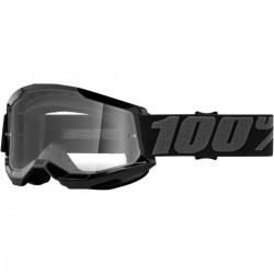 100% Strata 2 Black Clear krossiprillid