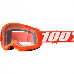 100% Strata 2 Orange Clear krossiprillid