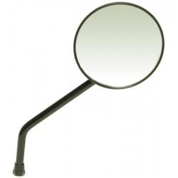 Peegel, ümmargune, must M10