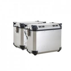 Alumiiniumist küljekohvrite komplekt Benelli Officine TRK 502 X
