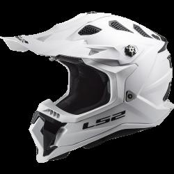 Krossikiiver LS2 MX700 Subverter EVO Solid White