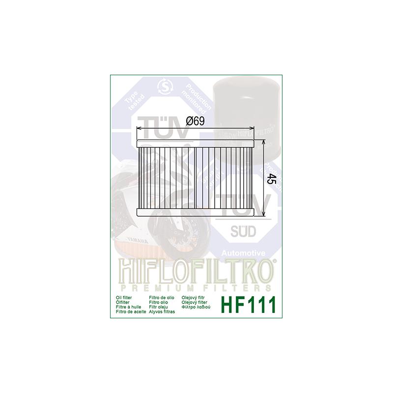 Õlifilter HF111