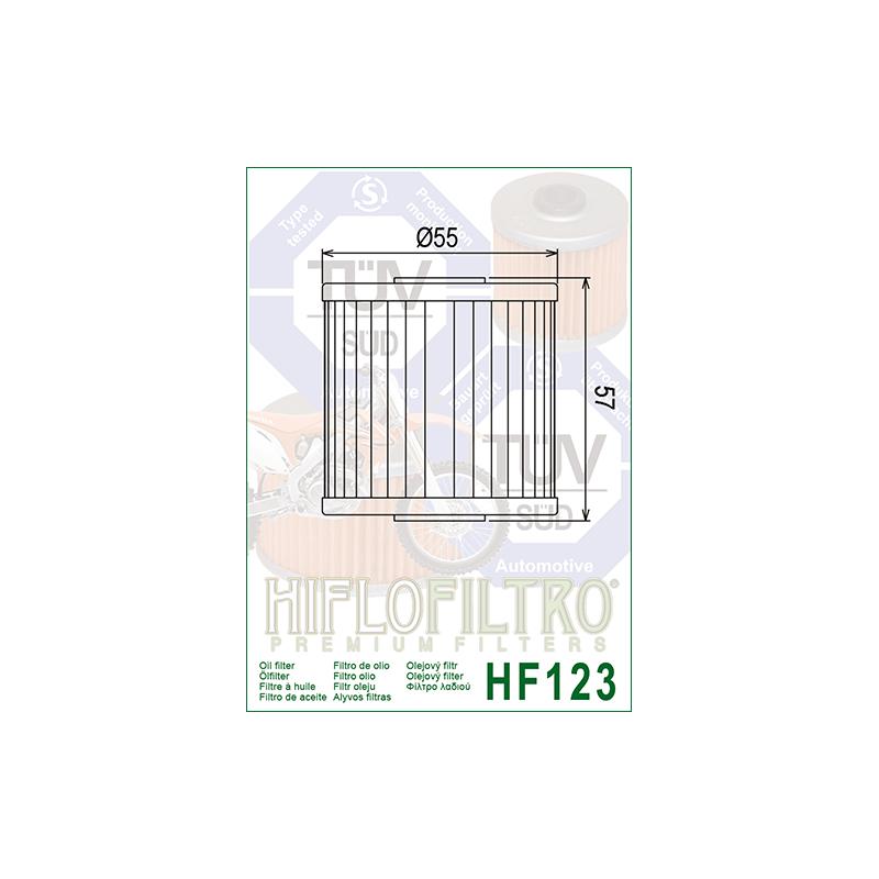Õlifilter HF123