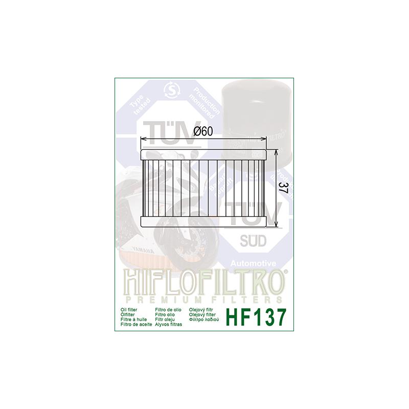 Õlifilter HF137