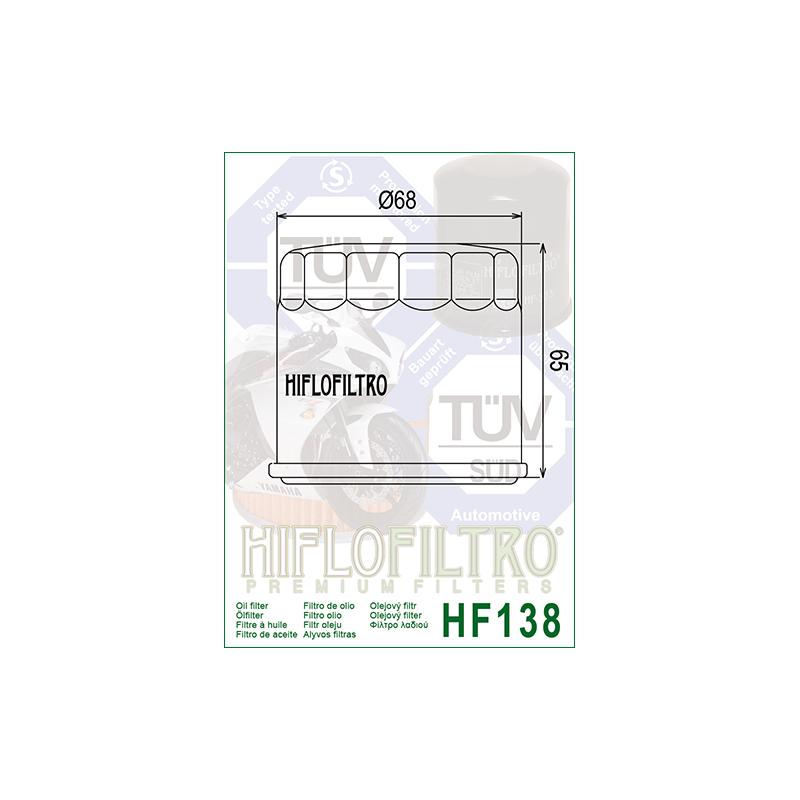 Õlifilter HF138