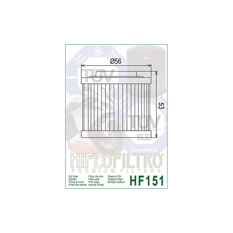 Õlifilter HF151