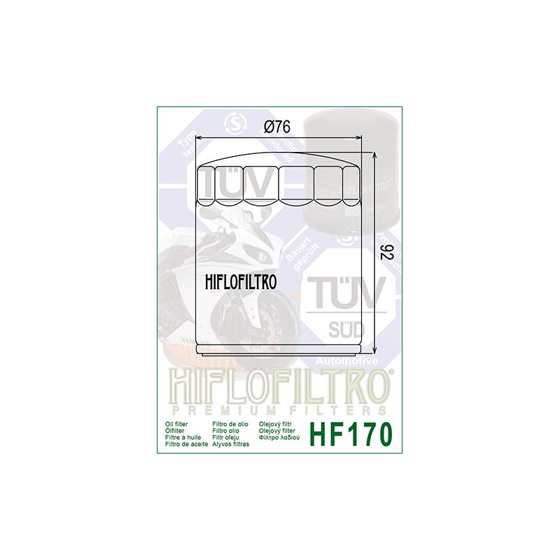 Õlifilter HF170B
