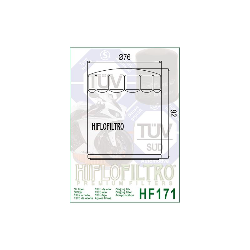 Õlifilter HF171B