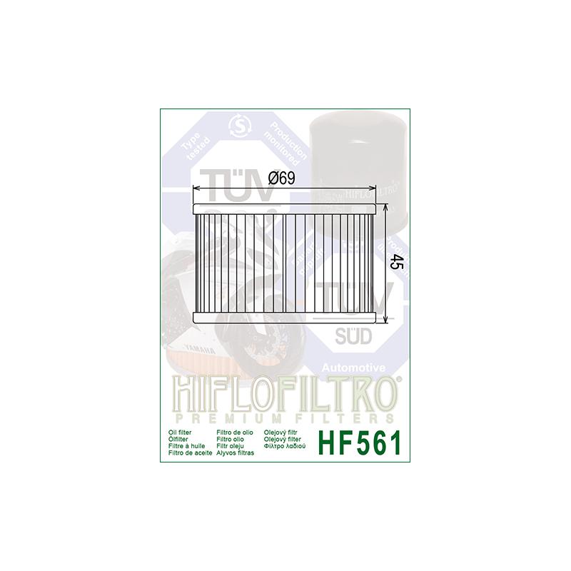 Õlifilter HF561