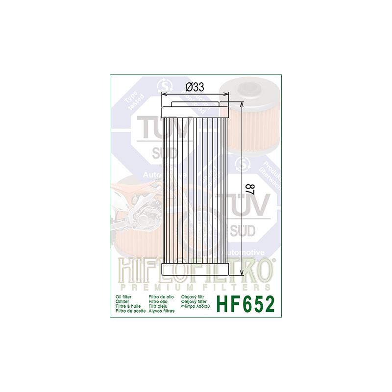 Õlifilter HF652