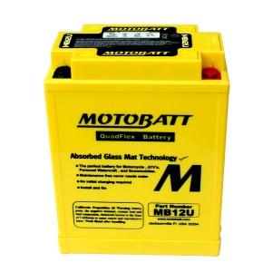 Motobatt battery, MB12U