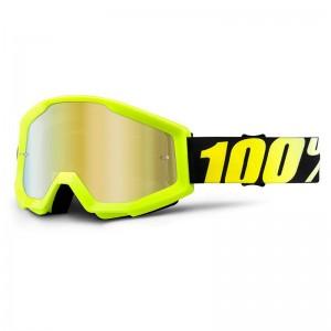 100% Strata Neon Yellow Mirror Gold krossiprillid