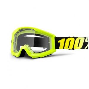 100% Strata Neon Yellow Clear krossiprillid
