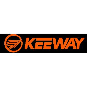 Vasak alumine kondel punase kirjaga Keeway X-Blade 50
