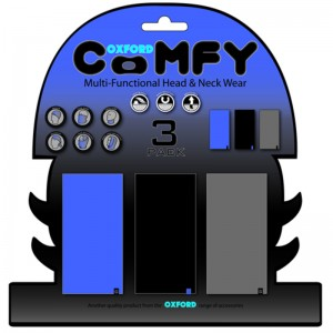 Oxford Comfy Blue Blk Grey  3-Pack