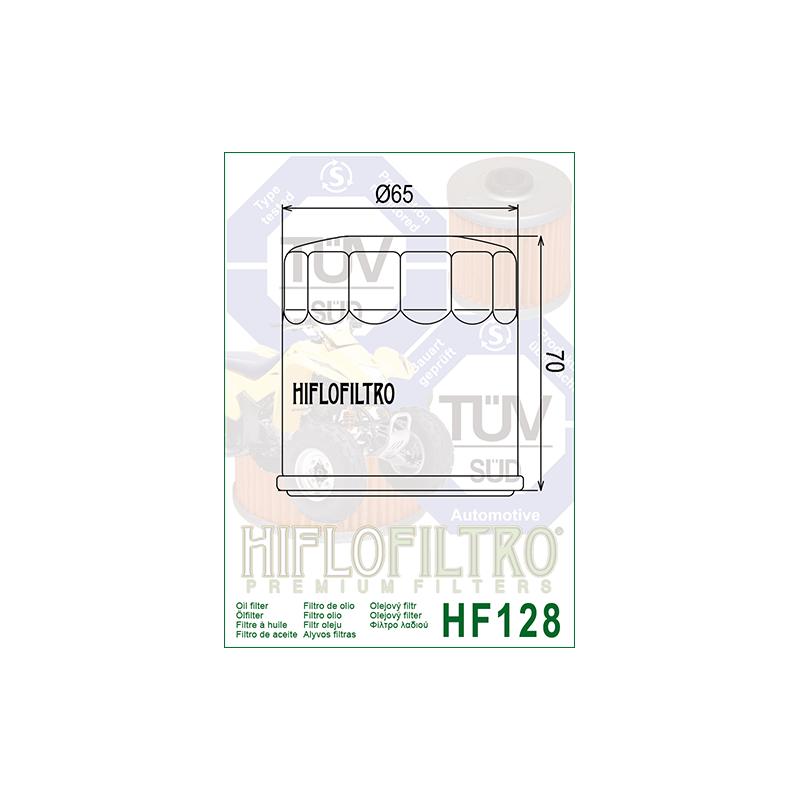 Õlifilter HF128