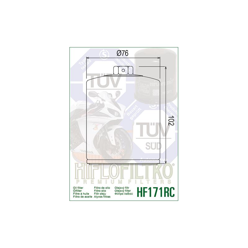 Õlifilter HF171B RC