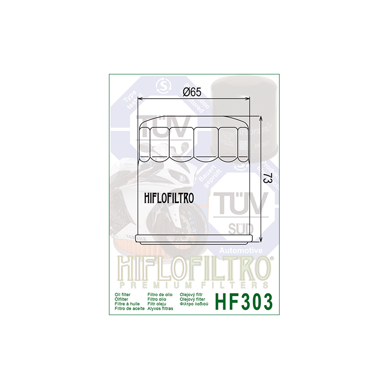 Õlifilter HF303C