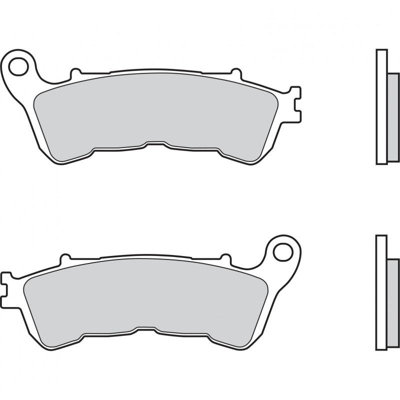 Brembo Brakepads Sintered Rear Road