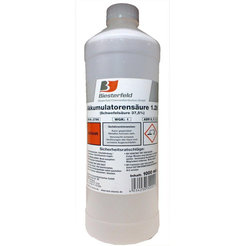 Battery acid 1000ml