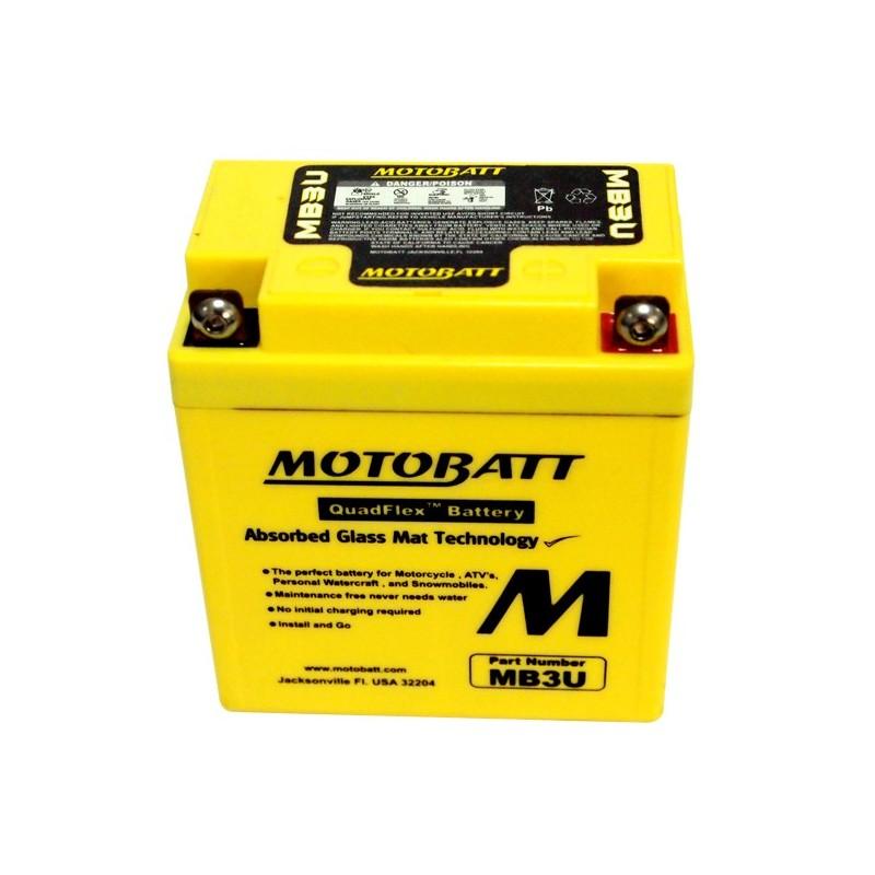 Motobatt battery, MB3U