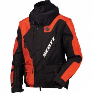 Scott 350 NB jacket black orange