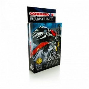 Goodridge brakehosekit HO CBR1000RR 09-10 rear