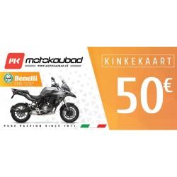 Motokaubad kinkekaart 50€