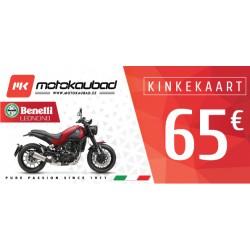 Motokaubad kinkekaart 65€