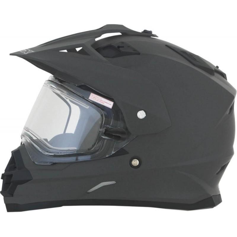Talvine Dual Sport kiiver elektrilise visiiriga FX39SE