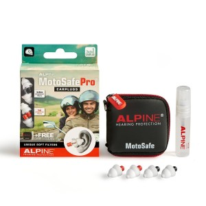 Kõrvatropid Alpine MotoSafe PRO (2 paari)