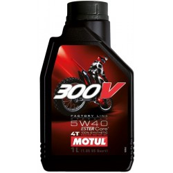 Motul 300V Factory Line Off-Road Racing 5W40 1L