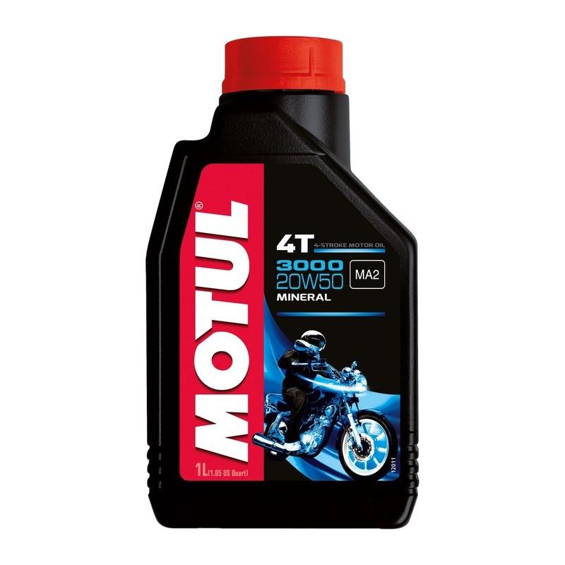 Motul 3000 4T 20W50 mineraalõli 1L