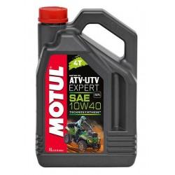 Motul ATV-UTV Expert 10W40 4T Technosynthese® poolsünteetiline mootoriõli 4L