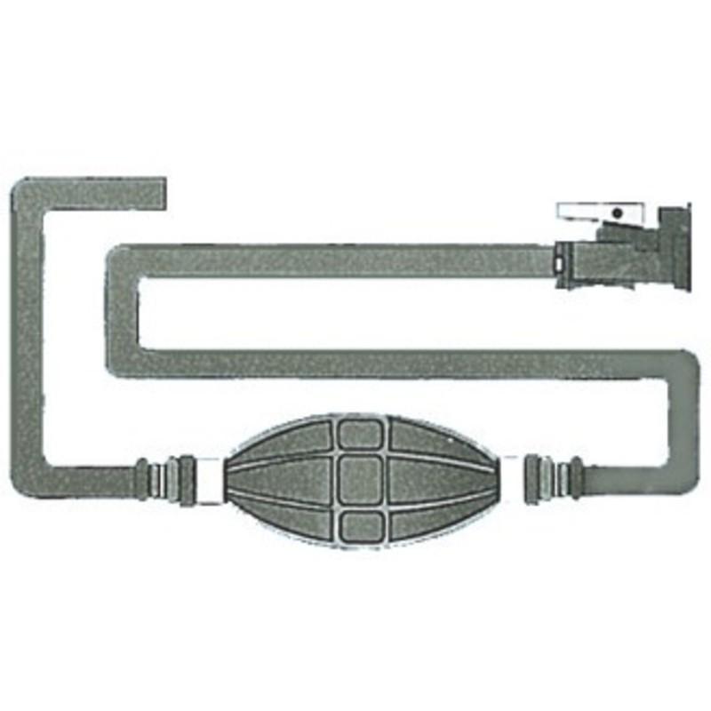 fuel line w OMC connector