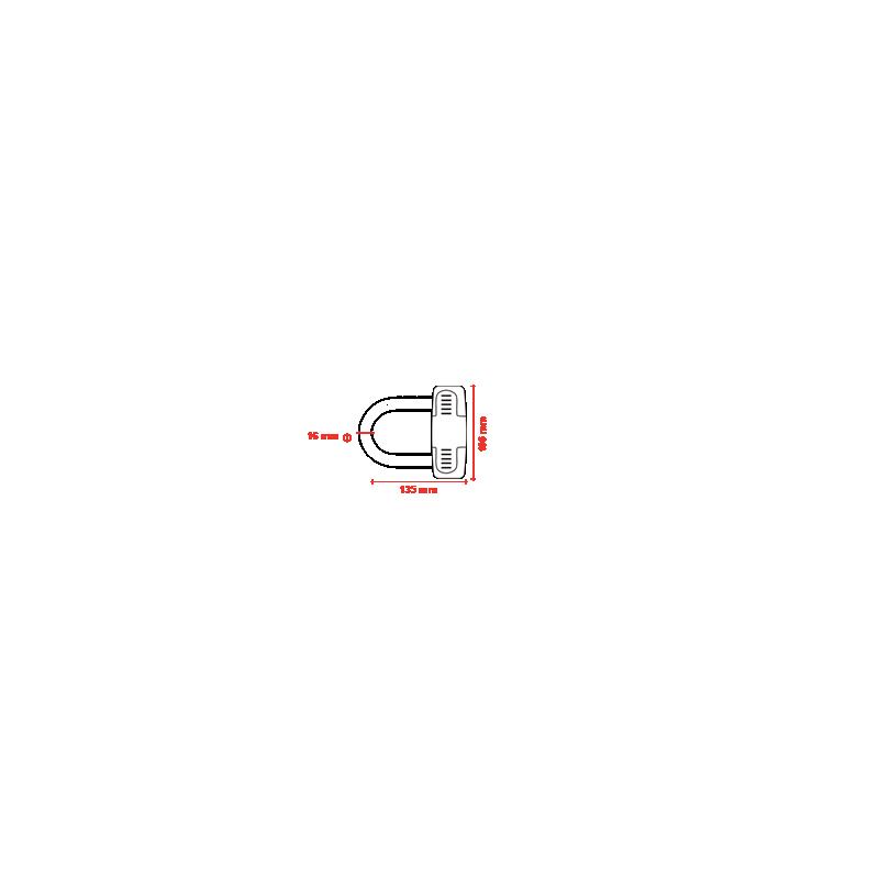 Kett-lukk 12mm x 1.7m