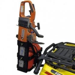 Kütusekanistri ja mootorsae hoidik ATV'le