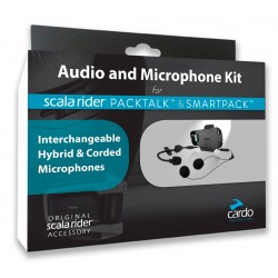 Cardo Packtalk/Smartpack Audio Kit