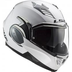 LS2 FF900 Valiant II Solid White 180° kiiver